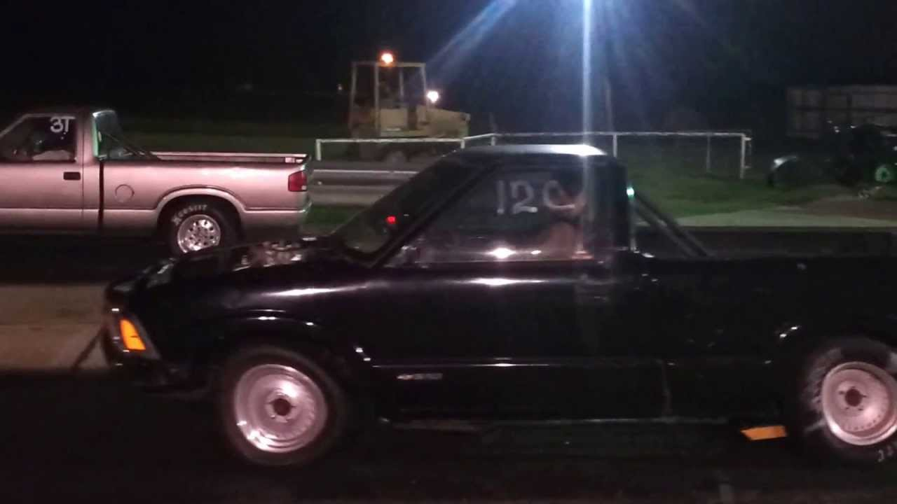 Our 95 S10 Drag Truck First Run