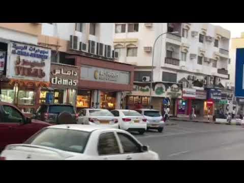 Oman MUSCAT RUWI city bazar NAKAGAWA