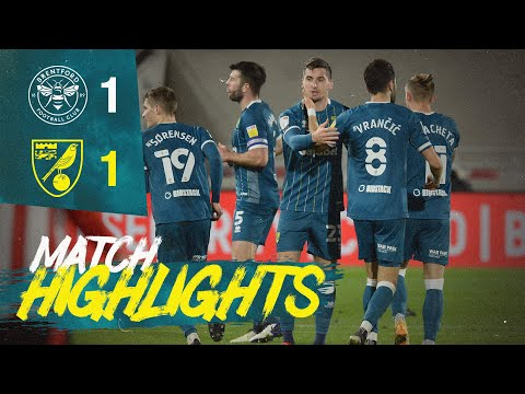 HIGHLIGHTS | Brentford 1-1 Norwich City