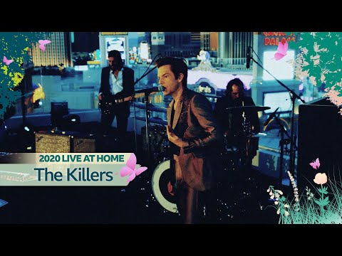 """The Killers - """"When You Were Young"""" (Radio 2 Live At Home)"""
