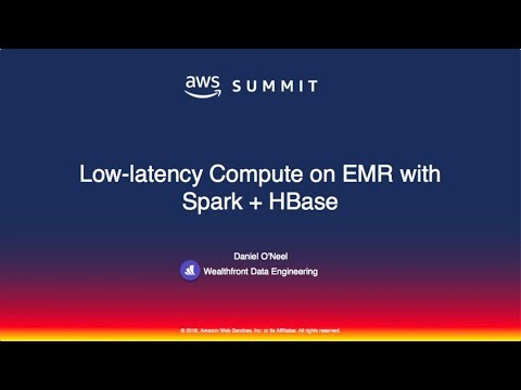Wealthfront on Low-Latency Compute on EMR with Spark + HBase