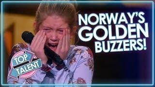 Norway's BEST Golden Buzzers! | Top Talent