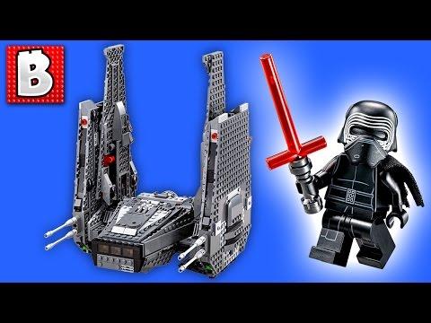 Lego Star Wars Kylo Ren's Command Shuttle...