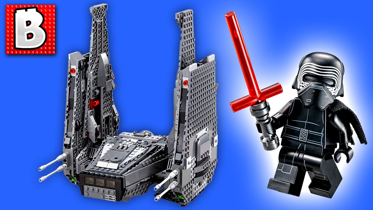 Lego Star Wars Kylo Rens Command Shuttle Set 75104 With Levelcap