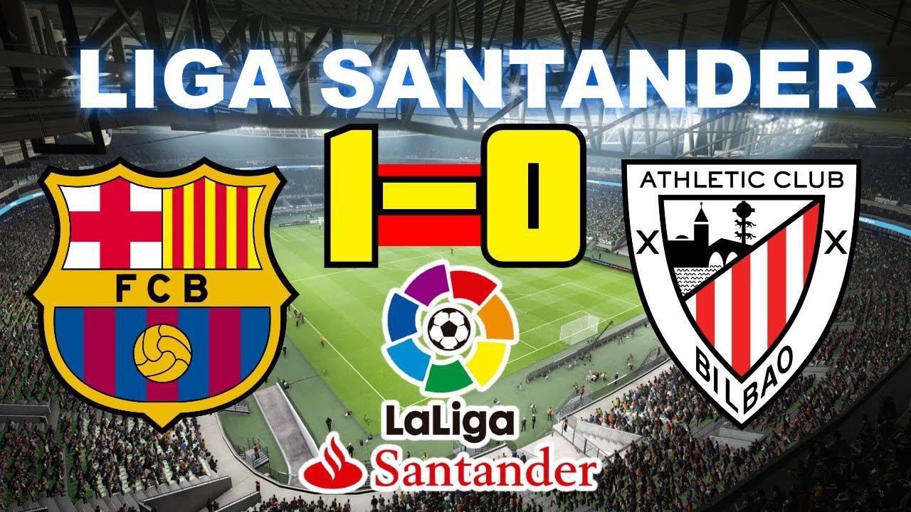 Barcelona vs Atletico de Bilbao 1-0 | Liga Santander 23/06 ...
