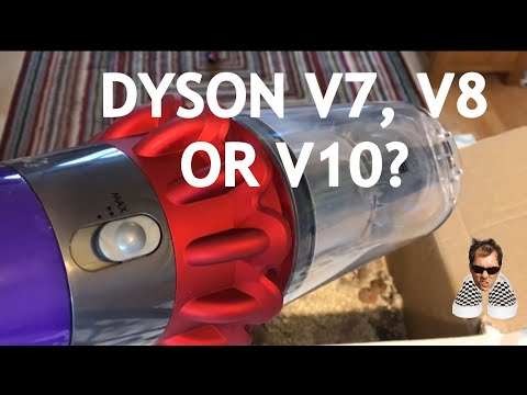 Which Dyson to buy V7, V8 or V10 Porridge and Cookies Test