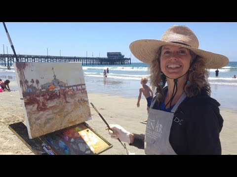 Michele Byrne - Plein Air Painting Artist share her story and her experience in Cuba.