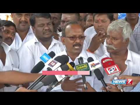 Call taxi drivers protest against OLA, UBER and UTOO at Chennai | News7 Tamil
