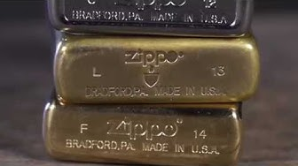 Zippo Instructional: Lighter Date Codes