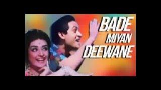 Short film prank Bade Miyan Deewane Indian funny short film promotional Bollywood cinema 1960