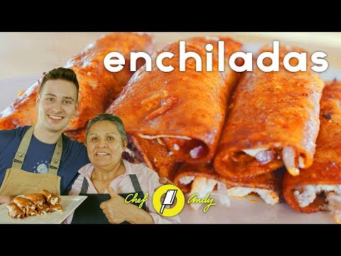 Enchiladas Recipe // Chef Andy