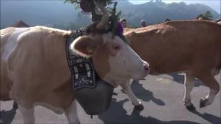 39ème Désalpe de Charmey du 29.09.2018 en Gruyère (Suisse)