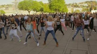 Zumba Flashmob Stuttgart (Germany) April 2015 - Tanz ES Esslingen & MoveDanceSweat