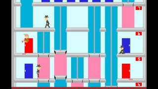 Arcade Game: Elevator Action (1983 Taito)