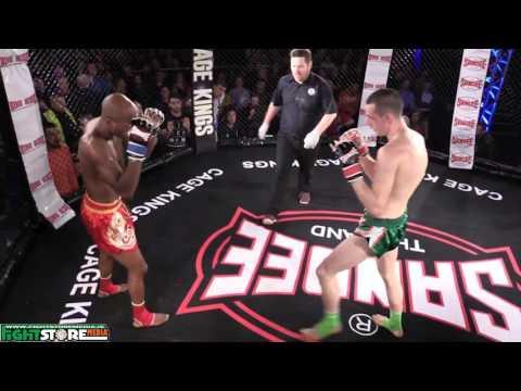 Craig Coakley vs Jeremy Nkoa Zoa - Cage Kings Dublin #2