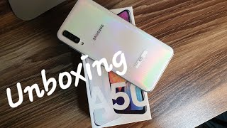 Samsung Galaxy A50 Unboxing| Quick Look| In Display Fingerprint Scanner| Philippines