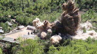 كوريا الشمالية تدمر ثلاثة أنفاق في موقع خاص بالتجارب النووية …