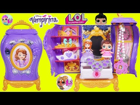 Sofia The First Jewelry Box with LOL Surprise Doll