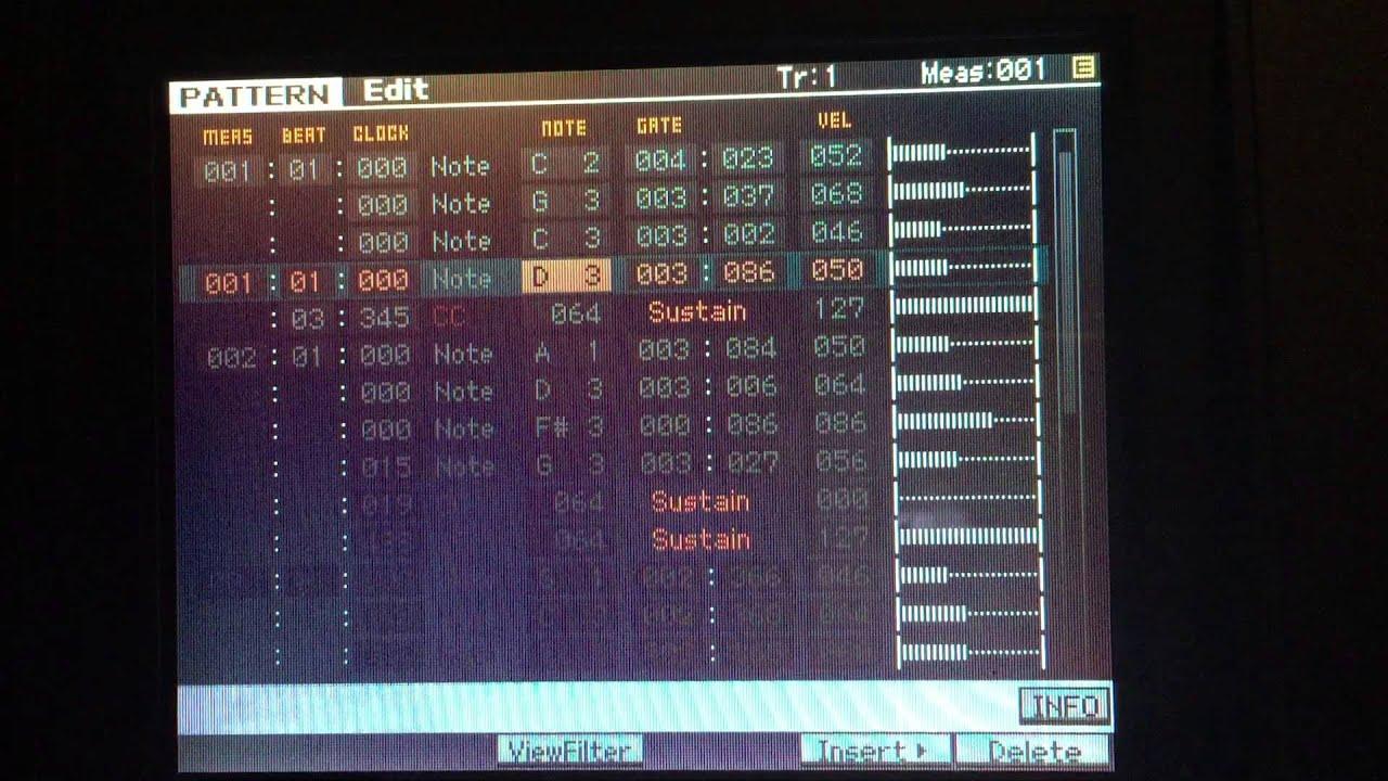 MOTIF XF MIDI DRIVERS
