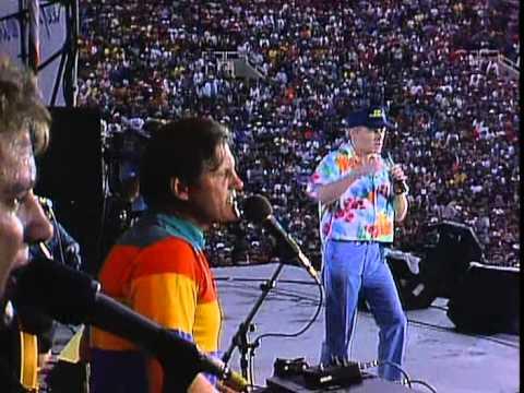 The Beach Boys  Barbara Ann  at Farm Aid 1985