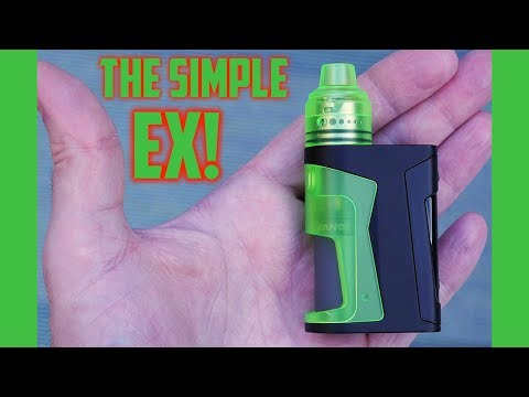 SMALLEST Squonk Kit EVER!! The Simple EX By Vandy Vape!