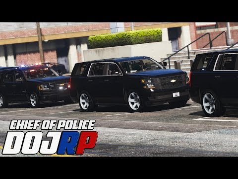 DOJ Chief of Police - Escorting a High Profile Government Offical - EP.55