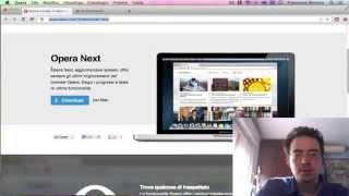 видео Opera 15.0 Next (beta) выпущена для Mac и Windows