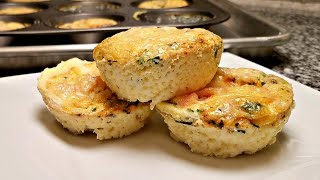 Easy Egg Muffin Recipe | Low Carb High Protein Recipe | How To Make Egg Cup Muffins thumbnail