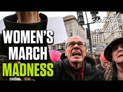 """Women's Marcher: """"I don't care if it's murder."""" INSPIRING ENDING!"""
