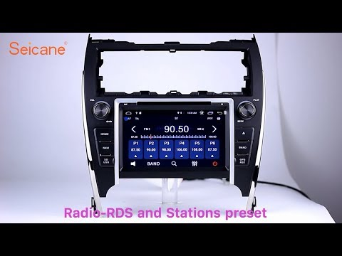 In Dash Radio 2012-2017 TOYOTA CAMRY EUR VERSION DVD GPS Navigation Player With USB SD Aux