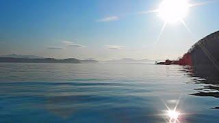 Рыбалка в Приморье Морская рыбалка Бухта Тихая Заводь 27 04 2020 г Минтай