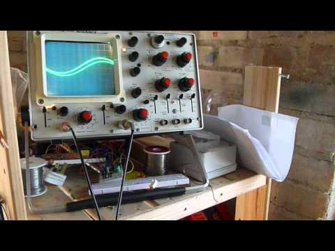 Sine Wave Generator Amplified