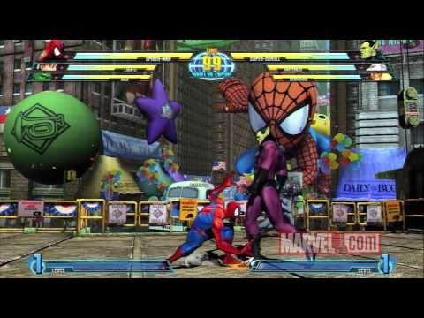 Marvel vs. Capcom 3: Spider-Man Spotlight