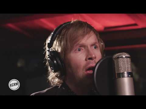 "Beck performing ""Dreams""  on KCRW"