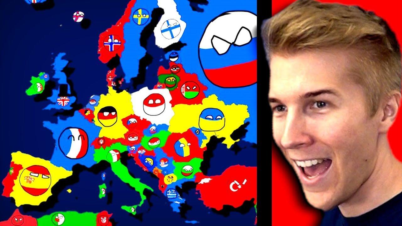Polandball Peace Maker Country Ball Opening 2 Youtube