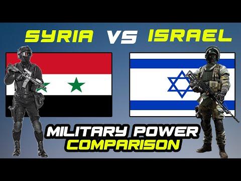 ISRAEL VS SYRIA | Military Power Comparison 2021 | AOD