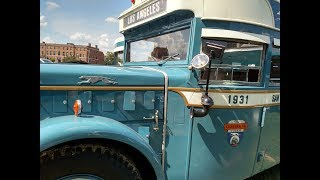 Evansville Bus Rally 1931 Mack Bus