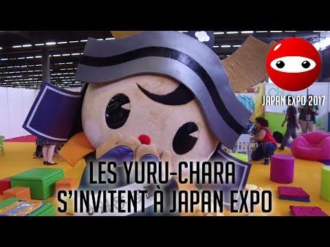 [Japan Expo 2017] Les yuru-chara s'invitent à Japan Expo! - Mangas