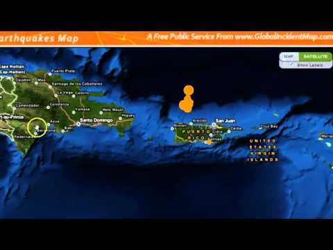 2MIN NEWS Earthquake Hits Puerto Rico
