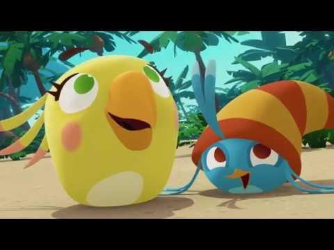 Злые птички Angry Birds Стелла 1 сезон 8 серия Хозяин неба все серии подряд