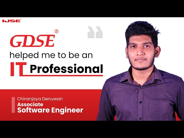 Successful path to be an IT professional / Software Engineer .  Chiranjaya said...