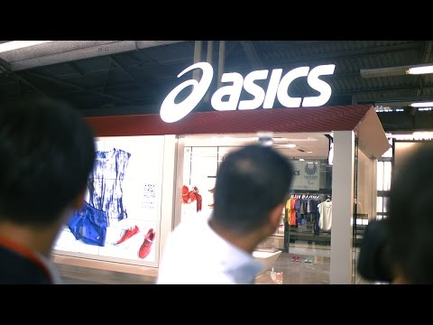 Panasonic provides Light ID technology to ASICS new concept store