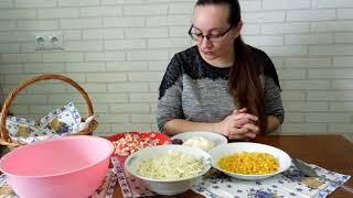 Действительно очень вкусный и быстрый в приготовлении салат. Рецепты салатов. Вкусно.