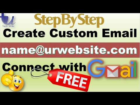 (FREE) Create Your Domain Email & Connect with Gmail (Step-by-Step) [Urdu/Hindi/English Subtitles]