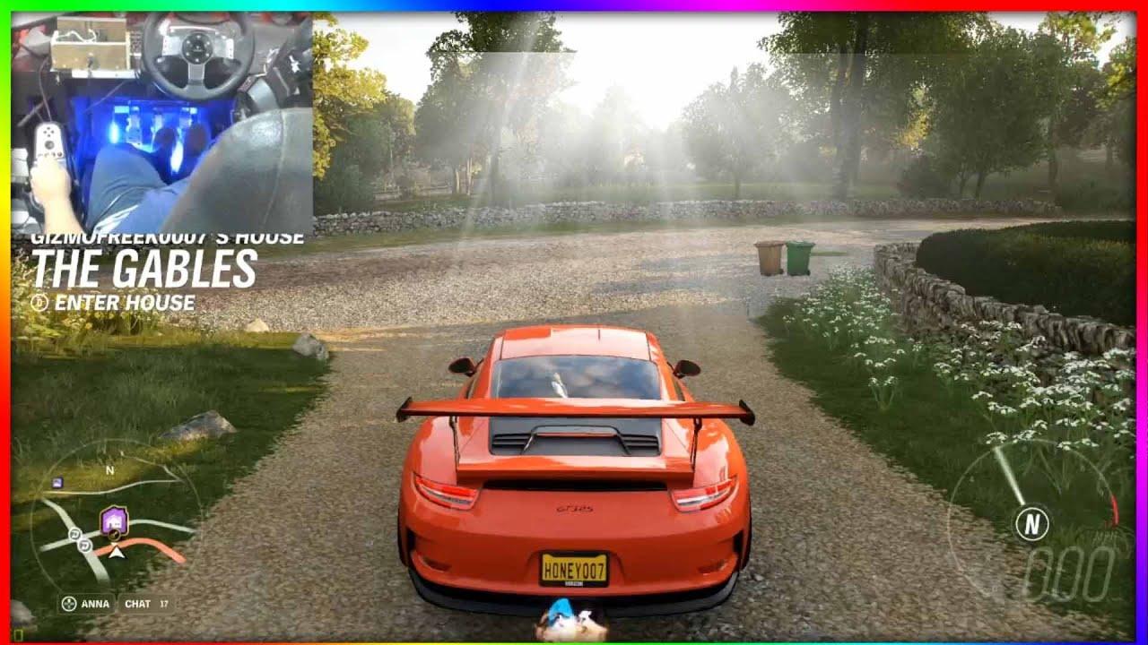 PORSCHE 911 GT3 RS  855HP | Forza horizon 4 | Logitech ...
