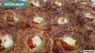 Minik Pizza Poğaça - Hülya Ketenci - Hamur İşleri