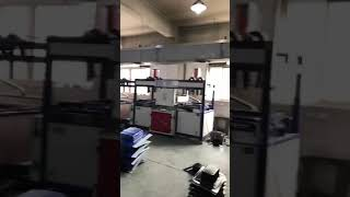 Luggage forming machine