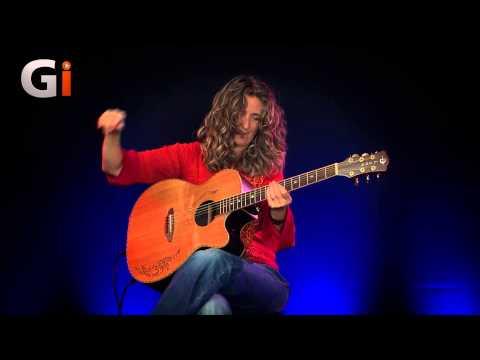 Atomic Reshuffle Vicki Genfan Performance | Guitar Interactive Magazine