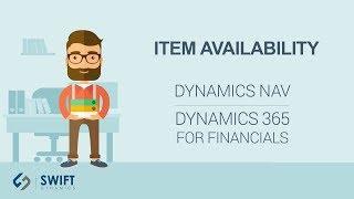Item Availability in Dynamics NAV