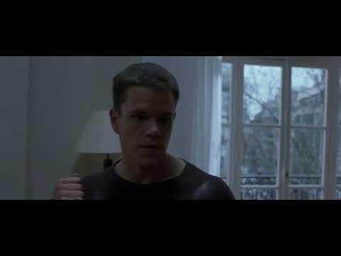Джейсон Борн (Мэтт Дэймон) VS Кастель (Никки Нод) Идентификация Борна